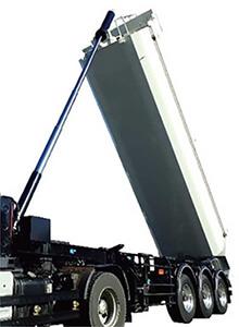 GVW36トン車級ダンプセミトレーラの新モデル…ザ・トラック